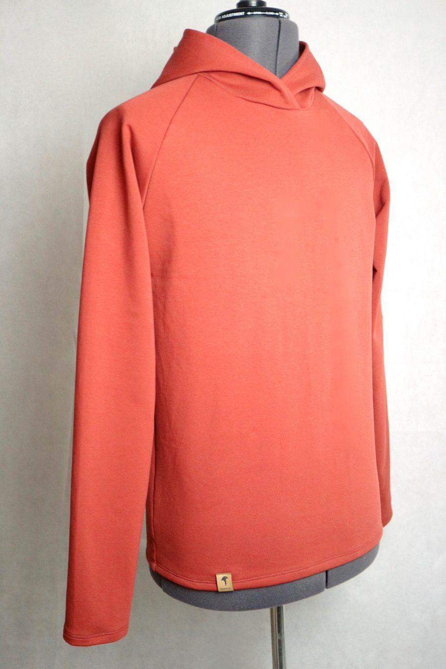 """pullover """"buchfink"""" von fraenne, farbe paprika, rotbraun"""